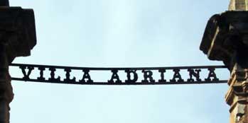 Villa Adriana: Cancello