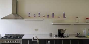 Villa Adriana: la cucina
